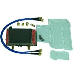 محلل شبكة من NanoVNA V2 بشاشة 2.8 بوصة LCD HF VHF UHF الأشعة فوق البنفسجية ناقلات 50 كيلو هرتز-3 جيجا هرتز محلل هوائي محلل شبكة
