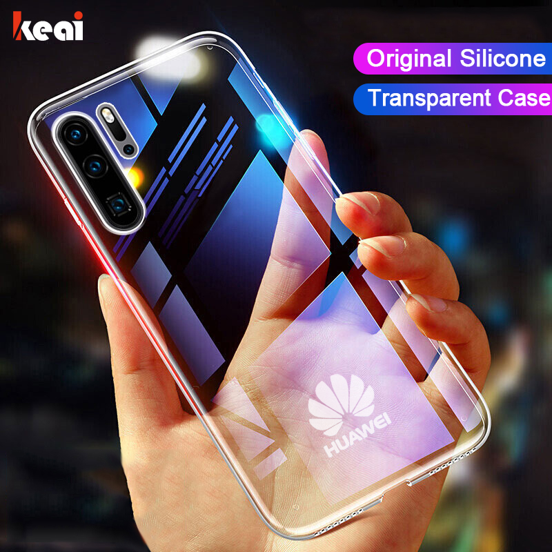 luxury clear Shockproof Case Voor Huawei P30 P20 P40 P10 Mate 30 20 10 Lite Pro etui P Smart 2019 Honor 8X 9X 20 Pro Nova 5T Transparant Back Cover