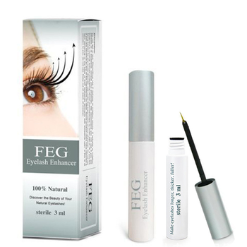 FEG Eyelash Enhancer Eye Lashes  Growth Serum Natural Medicine Treatment Mascara Lengthening