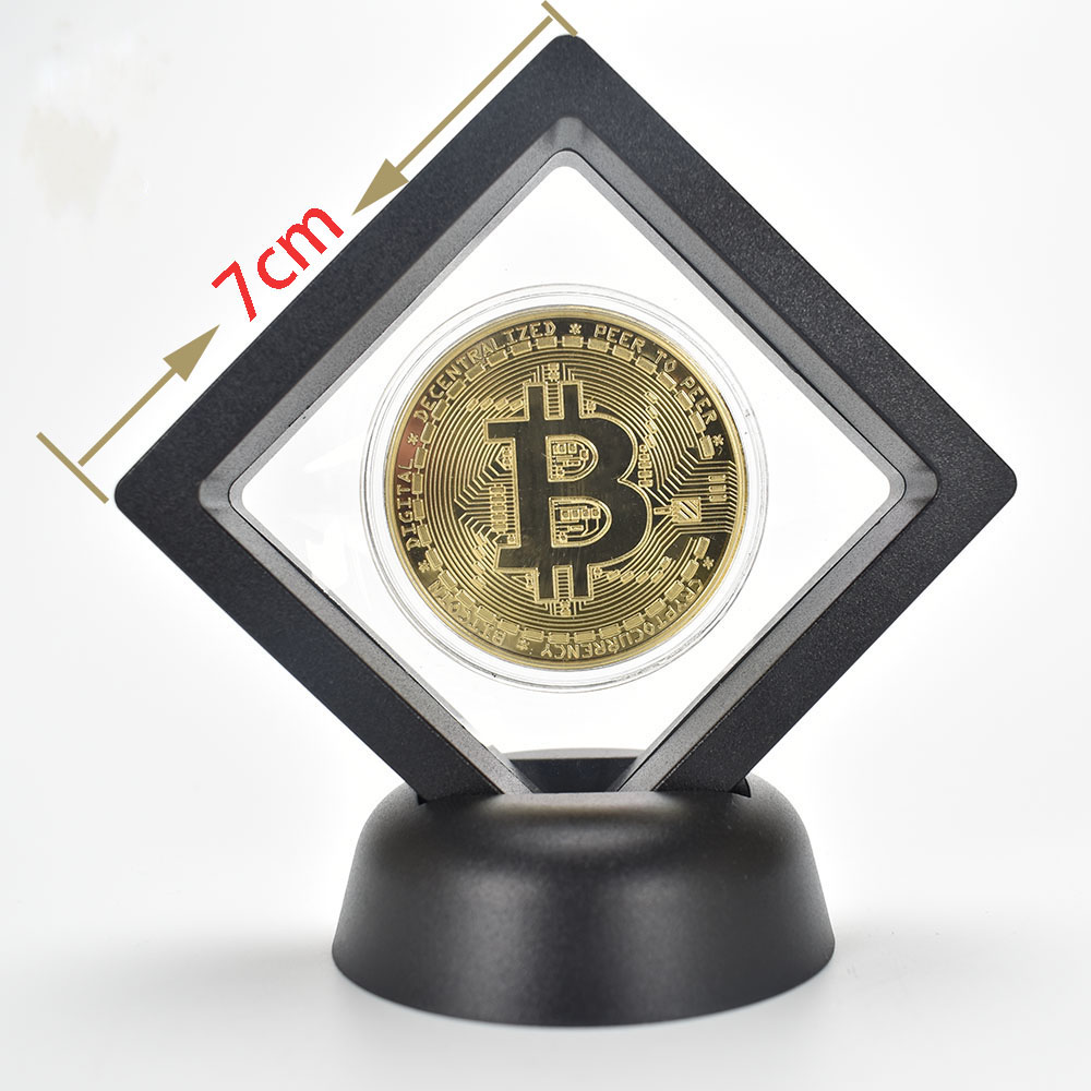 Bit Coin gold  Btc coin cions Litecoin Ripple Ethereum Cryptocurrency Metal Commemoration Gift Physical antique imitation-2