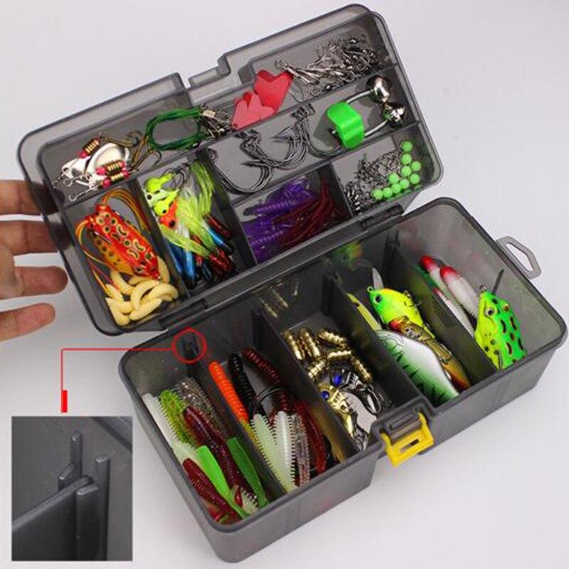 Super complet multi-fonction appâts de pêche crochets mis en boîte leurres de poisson accessoires 168 pièces/ensemble
