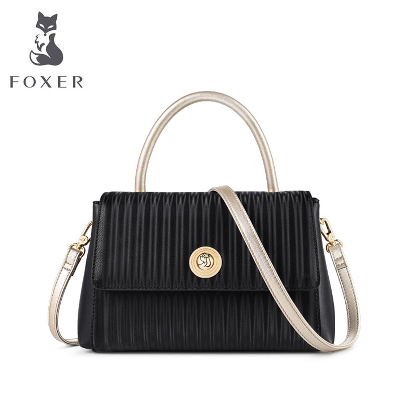 FOXER luxury handbags women bags designer bags famous brand women bags 2019 new tote bag women leather shoulder Crossbody bag