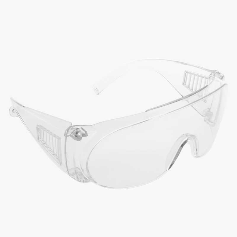 Clear Safety Goggles Industrial Labor Protection Goggles Protective Anti-fog Eyewear Glasses