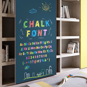 Image 2 - Magnetic DIY Blackboard Drawing Board with Chalk Pen Children Kids Painting Doodle Education Toys for Children Birthday Gift