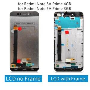Image 5 - ل شاومي Redmi ملاحظة 5A lcd مجموعة المحولات الرقمية لشاشة تعمل بلمس مع الإطار ل Redmi ملاحظة 5A رئيس عرض 2/3/4 جيجابايت إصلاح أجزاء
