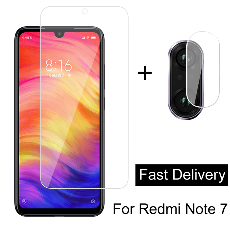 2 in 1 <font><b>Camera</b></font> Lens Tempered Glass For <font><b>Xiaomi</b></font> Redmi Note 8 7 Pro 8T 8A Screen <font><b>Protector</b></font> For <font><b>Xiaomi</b></font> <font><b>Mi</b></font> 9 Lite SE <font><b>9T</b></font> Pro Glass Film image