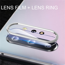 Back Camera Lens Protective Ring with Film For Samsung Galaxy Note 10/ 10+ Phone Screen Protector