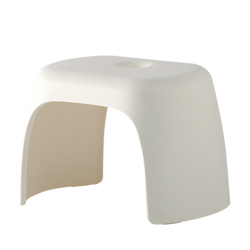 Thick ABS Stool Bathroom Non-Slip Stool Home Shoe Stool Child Bath Hand Wash Bench