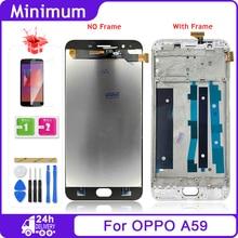 "Oppo F1s A59 A1601 5.5 ""lcd ディスプレイタッチスクリーンデジタイザアセンブリの交換部品 + ツールのための oppo F1 5s lcd"