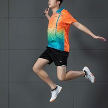 2021New Men Women Badminton Sport Suit  Quick Dry Breathable Jogging Tennis TableTennis Volleyball Competition Sportwear