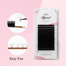 AGUUD Easy Fan Bloom Lashes 0.03 0.05 0.07 Volume Eyelash Extension Austomatic Flowering Fast Self-Making Fans