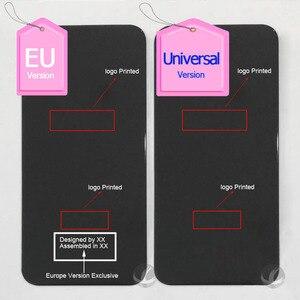 Image 5 - Versione ue europa Cover posteriore grande foro con LOGO + adesivo per iphone 8 8P Plus X XS Max XSM XR custodia posteriore vetro facile da installare