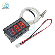 Compteur de température DC 12V XH-B310 thermomètre numérique à LED, sonde de type K M6, testeur de Thermocouple-30 ~ 800 degrés