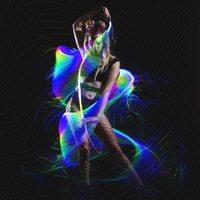 Látigo de fibra óptica LED programable, 70 pulgadas, 360 °, giratorio, luz muy brillante, juguete para Rave EDM Pixel Flow, encaje, Festival de baile