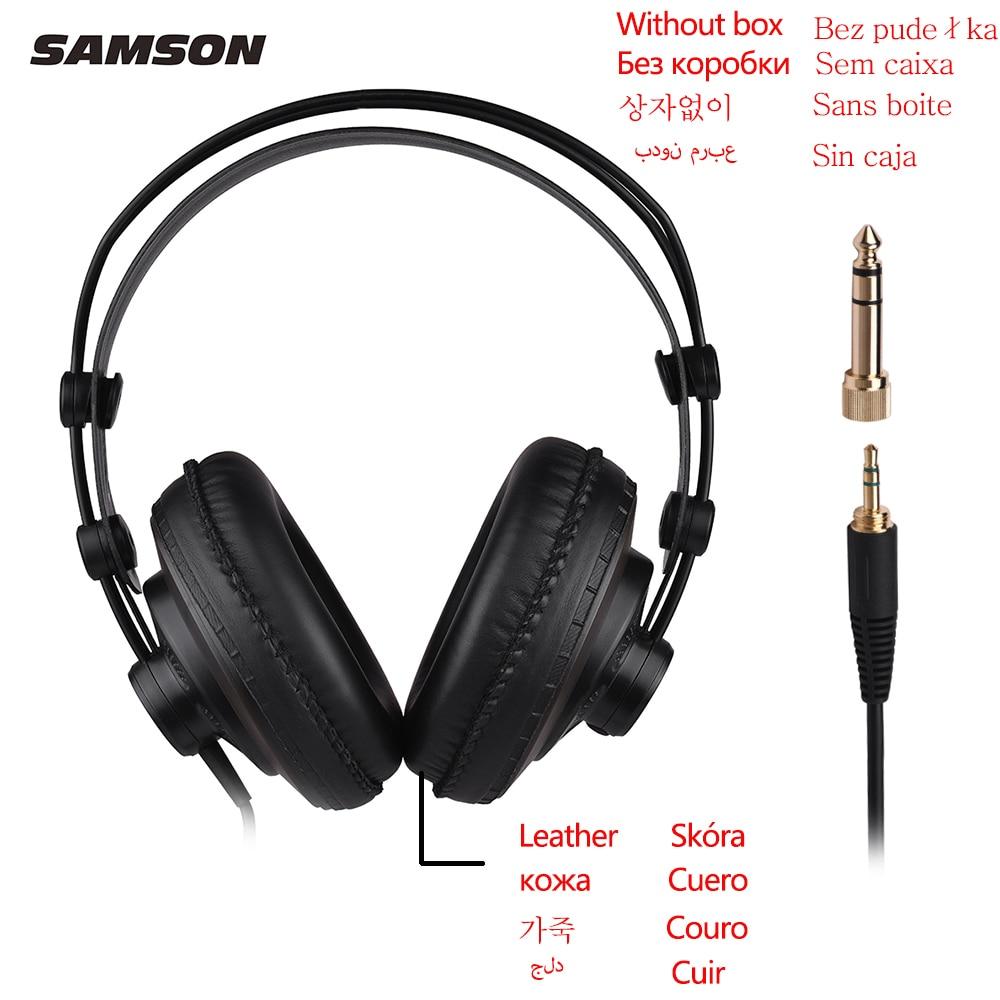 Samson sr850 estúdio referência monitor fones de