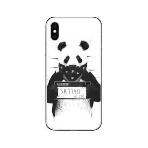 Image 3 - Ciciber etui na telefon iPhone 11 Pro XS MAX X silikonowe etui na Iphone XR 8 7 6 6S Plus 5S SE 2020 Banksy Graffiti Coque Funda