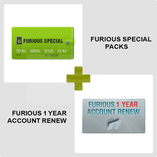 Dongle 1-Year-Account 7 8 9 Gold-Pack 1-2-3-4-5-6 10-11 12-13 Renew-Support Furious
