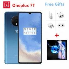 Смартфон OnePlus 7T с глобальной ПЗУ, 8 ГБ, 128 ГБ, Восьмиядерный процессор Snapdragon 855 Plus, 90 Гц, AMOLED экран, 48мп, тройная камера UFS 3,0, NFC