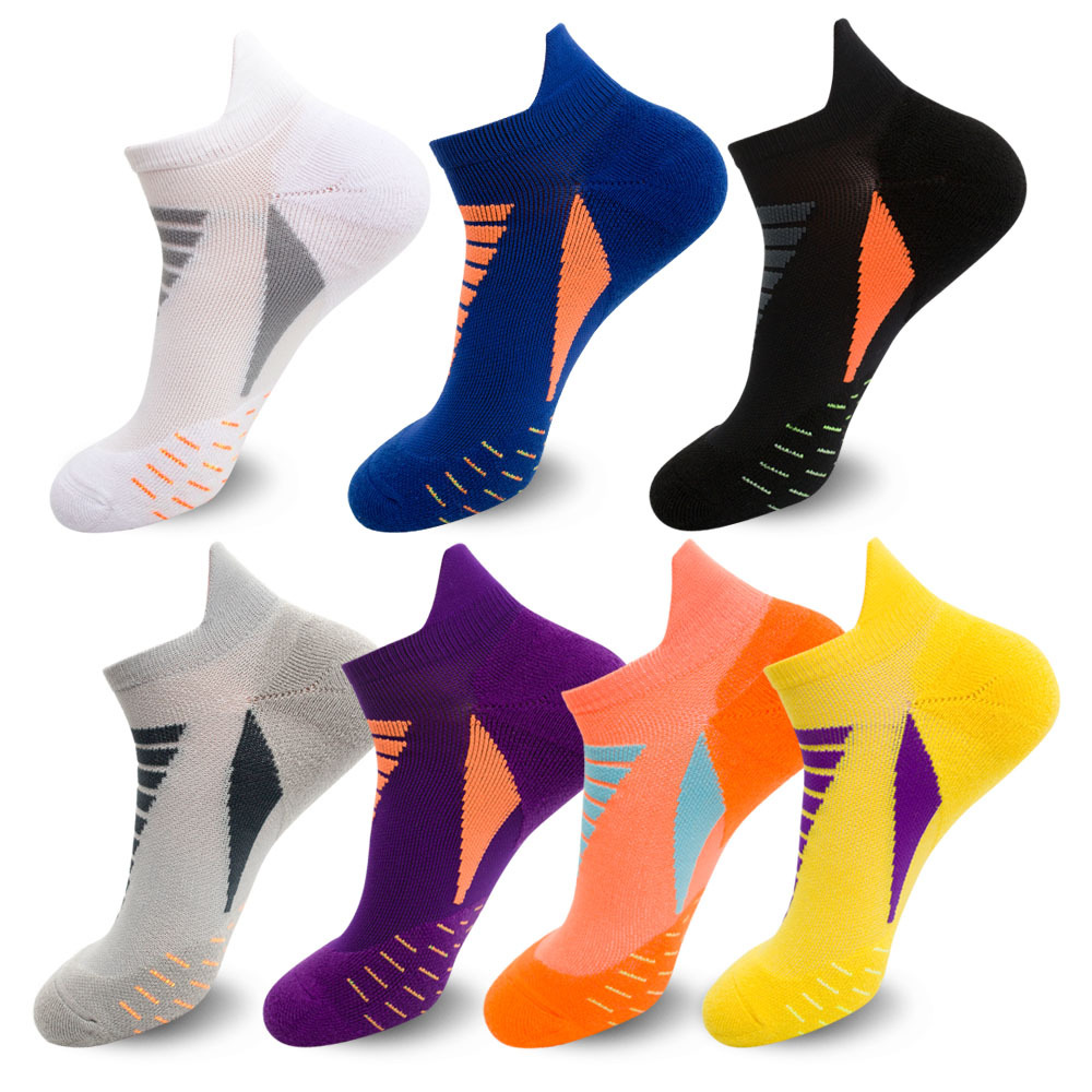 Men Basketball Socks Sports Riding Cycling Running Sport Sock Summer Hiking Tennis Ski Man Bicycle Slip Socks EU 39-44 Meias
