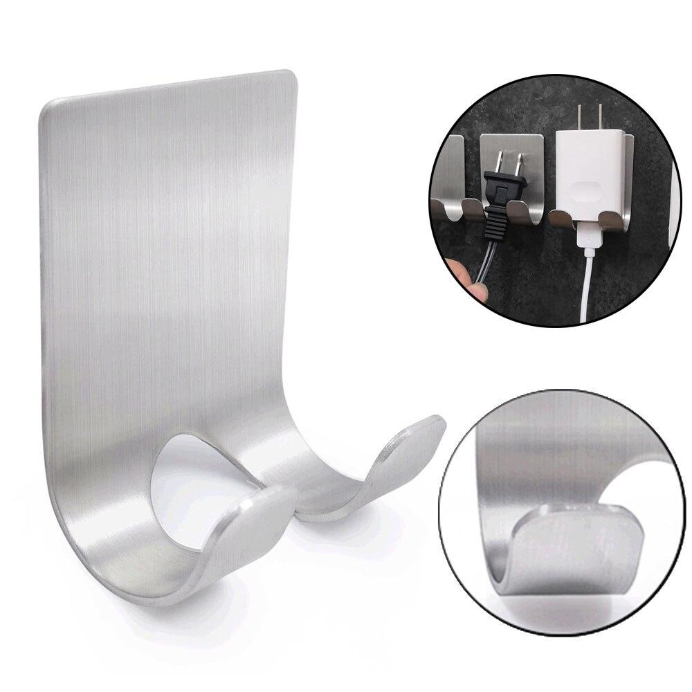 1Pcs Razor Stainless Steel Holder Wall Men Shaving Shaver Shelf Hook Kitchen Hanger Bathroom Razor Rack Wall Adhesive Storage