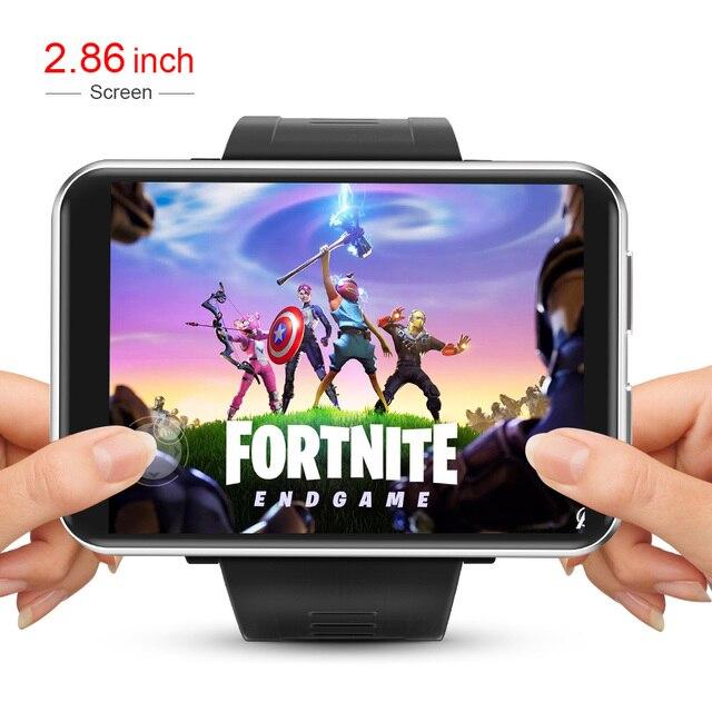 LEMFO LEMT 4G Smart Watch Men Android 7.1 2.8 Inch 640*480 Screen 3GB + 32GB GPS WIFI 2700mah Big Battery 1