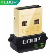EDUP USB Netzwerk Karte 802,11 n USB Ethernet Adapter für Raspberry Pi WiFi Empfänger 150Mbps Wireless USB WiFi Adapter für Laptop