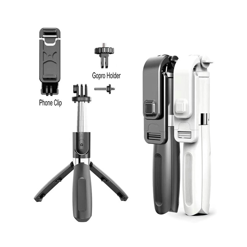 Wireless Bluetooth Selfie Stick Tripod Foldable Tripod Monopods Universal for SmartPhones for Gopro Sports Action Camera 3