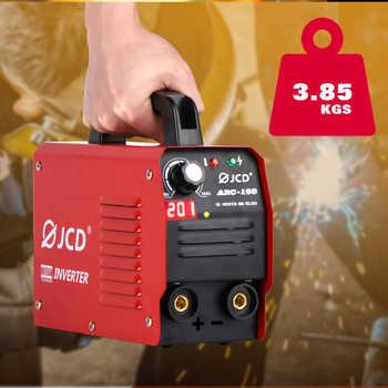 JCD 220V MIG Welding 200/160A IGBT Smart MMA Stick DC Inverter ARC Welder with Digital LCD Display for Beginner Welding Machine