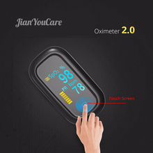 Medical Finger Pulse fingertip Oximeter Oled Touch Screen new spo2 Heart Rate Monitor pulsoximeter Oximetro pediatrico De Dedo