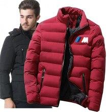 Men's winter new casual warm waterproof parka coat men's autumn coat windproof hood parker down jacket