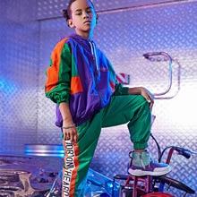 Костюм для джазовых танцев; Одежда для танцев в стиле хип-хоп для мальчиков и девочек; одежда для уличных танцев; одежда для выступлений
