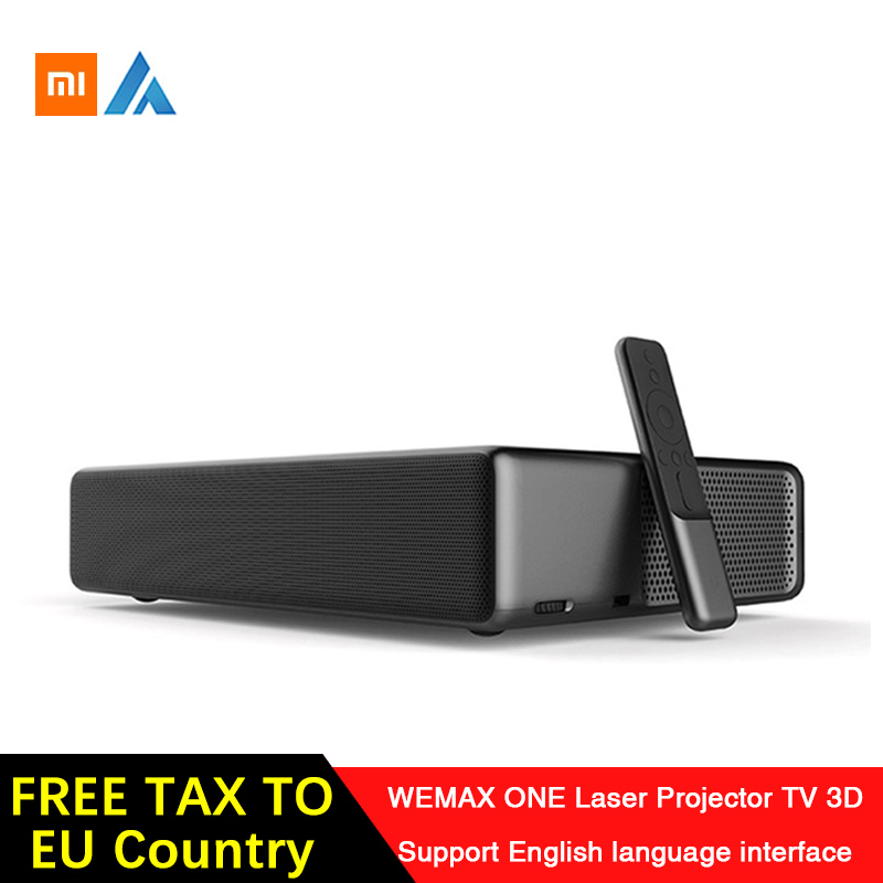 Xiaomi Fengmi Wemax One English Interface Laser Projector TV 5500 lumen 150 Inche 1080 Full HD 4K Support Bluetooth BT DOLBY DTS image