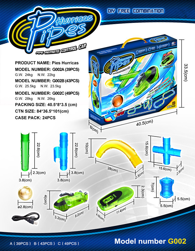 New Products Remote Control Pipeline Rich Cars