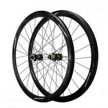 Pasak 700c Road Bike Wheelset Disc Brake 6 Bolts 40mm Depth 28c Sealed Bearing 24 Holes Thru Axle 15mm 12mm 142mm Bicycle Wheel