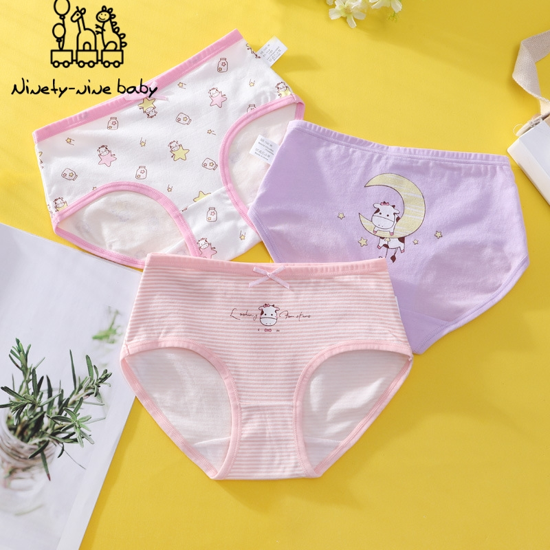 Kids Girls Underwear Cartoon Children's Shorts Panties For Kid Girls Underwear Teenager Underpants Girl Kids Child's Panties