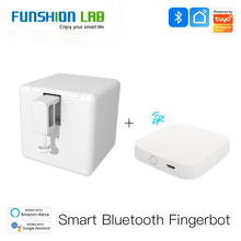 FUNSHIONLAB Tuya Smart Bluetooth Fingerbot Switch Bot Button Pusher Smart Life App Voice Control via Alexa, Google Assistant