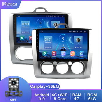 Car Radio For Ford-Focus 2 Mk2 Mk3 2004-2011 With Carplay DSP HD 360 for Sony Camera Multimedia Player GPS Navigation No 2 Din image