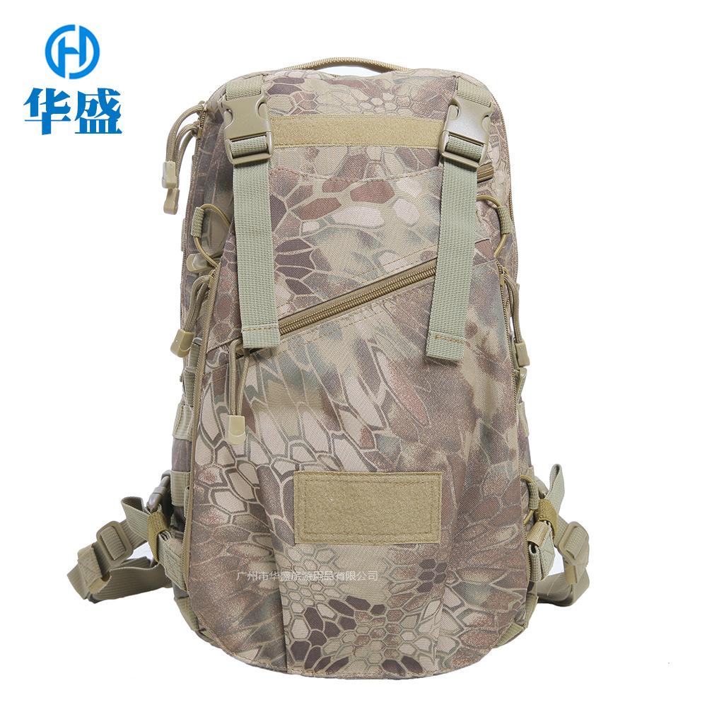 Cross Border for Outdoor Tactical Go-bag Camouflage Helmet Backpack Hiking Casual Travel Camping Pack