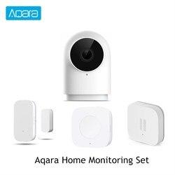 Juego de monitoreo doméstico Aqara G2 1080P Cámara ventana puerta/Sensor de vibración interruptor inalámbrico inteligente hogar aplicación Control remoto