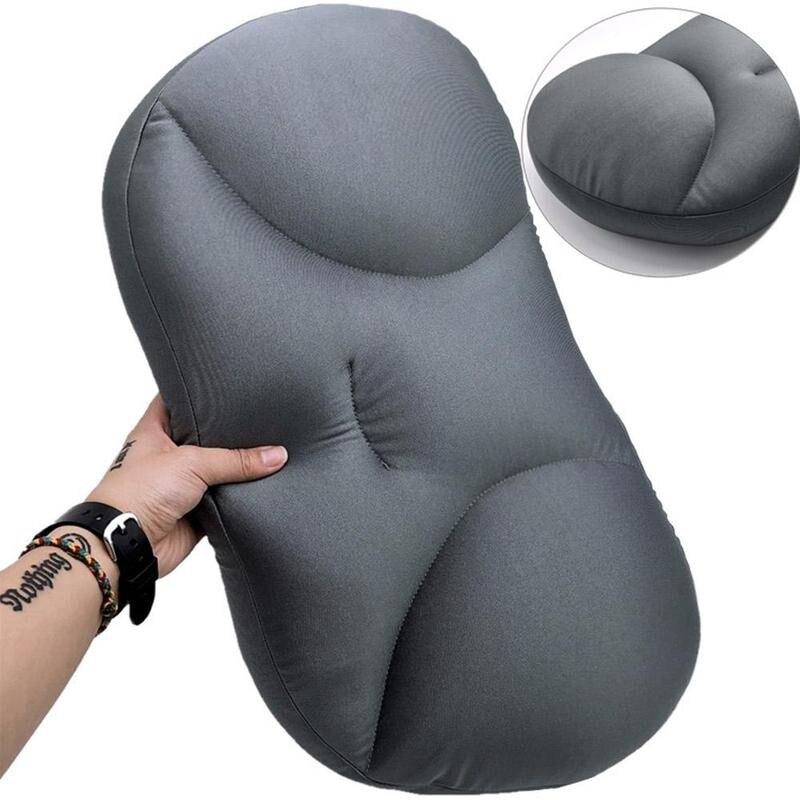 Coussin cervical 3D pour sommeil profond, housse lavable, Micro Airball, soulagement de la pression, cadeau 13