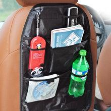 Universelle Wasserdichte Auto Rücksitz Organizer Lagerung Tasche Multi Tasche Hängen Beutel Assorted 58cm x 38cm Auto Zubehör