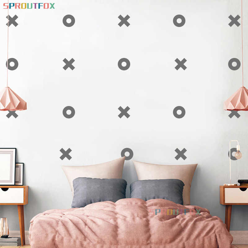 Decal Wallpaper Xo Wall Sticker For Boy Baby S Room Home Decoration Creative Cool Bedroom Art Child S Decals Wall Stickers Aliexpress