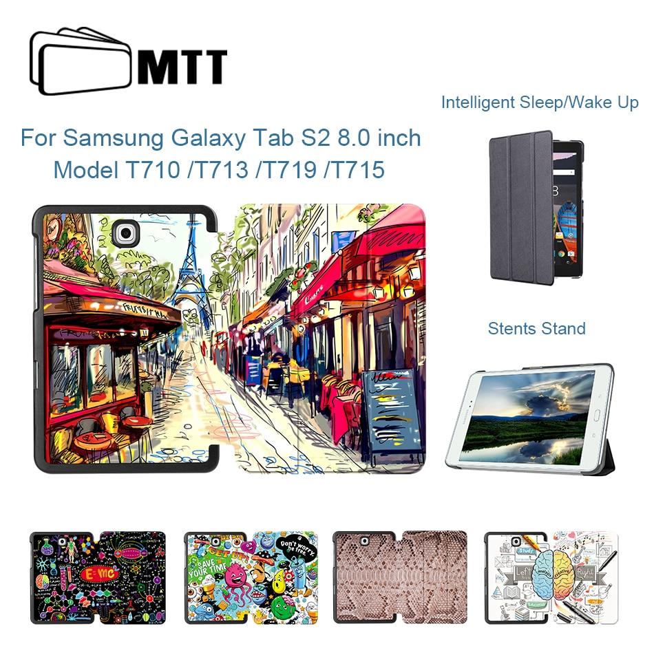 MTT PU Leder Abdeckung Fall Für Samsung Galaxy Tab S2 8,0 zoll T710 T715 T713 T719 8 Tablet Fall für Samsung Tab S2 8,0 Funda
