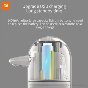 Image 5 - Xiaomi MiJia автоматический набор для мытья рук линия Салли индивидуальные Millet индукционный дозатор мыла ручная стиральная машина
