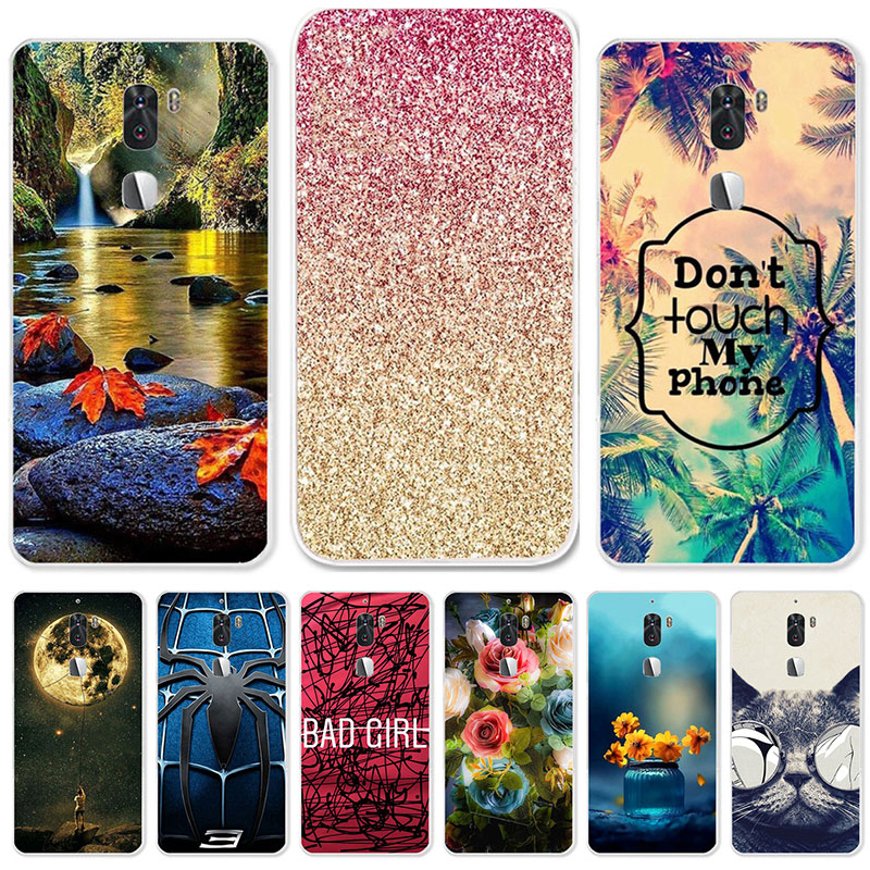 TAOYUNXI Soft Case For Letv Cool 1 Cases For Letv LeEco cool 1 Dual Leeco Coolpad Cool1 5.5 inch Silicone DIY Painted Covers