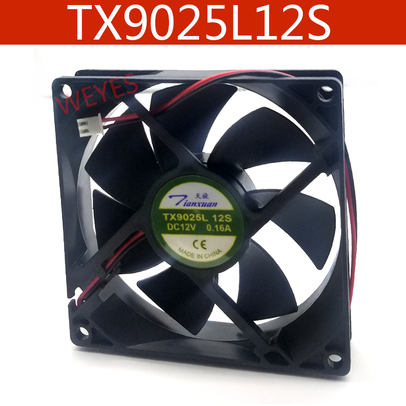 Оригинальный вентилятор для радиации TX9025L12S 12 В 9025 а 9 см