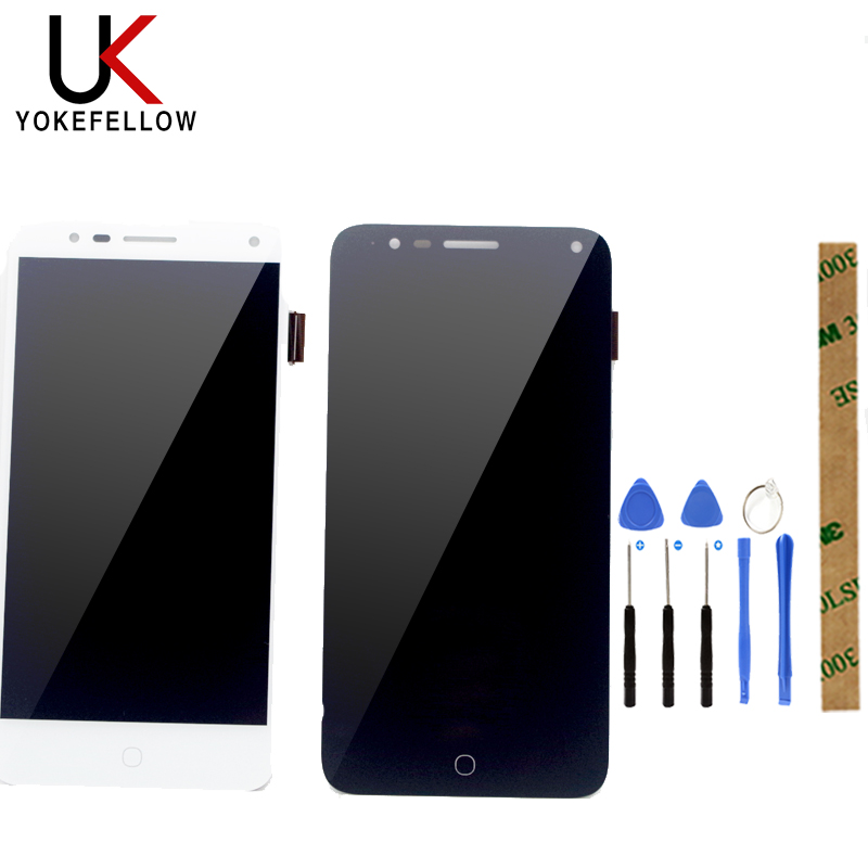 100% Tested For Alcatel Pop 4 5051 5051D 5051X 5051J 5051M OT5051 OT5051D OT5051X LCD Display With Touch Sensor Assembly