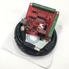 цена на 3pcs/set machine control - interface board CNC 1PCS MACH3 Breakout board +1PCS USB Wire+1PCS CD CNC USB 100Khz 4 axis interface