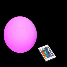 15cm led furniture led ball Night Light outdoor Swimming pool globle round ball waterproof Rechargeable 16 color changing 1pc free shipping magic rgb led ball outdoor diameter 20 cm rechargeable glowing sphere waterproof pool color changing light ball