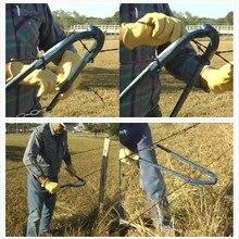 Домашний инструмент для ремонта проволоки ограждения ограждение открытый цепь ручной потянув портативный фермы сверхмощный сад крепления ограждения инструменты